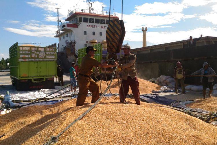 Kabupaten Tojo Una-una Ekspor 14.000 Ton Jagung ke Filipina