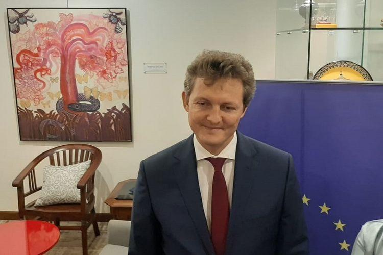 Kuasa Usaha Ad Interim Misi Uni Eropa untuk ASEAN Lucas Cibor.