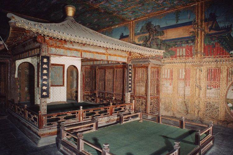 Salah satu bagian Taman Qianlong.