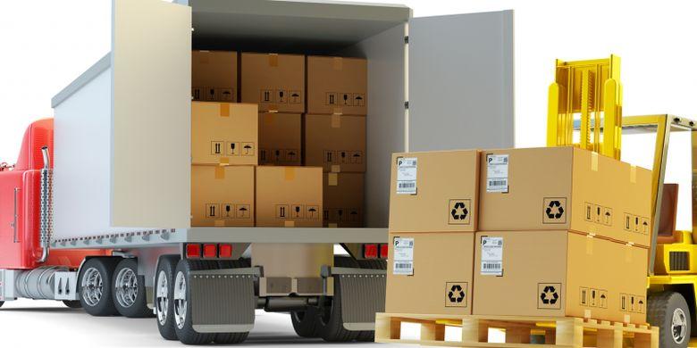 Ilustrasi logistik