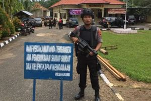 Kantor Polsek Maro Sebo Jambi Diserang, Ini Identitas Pelaku