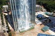 3 Gedung Berfasilitas Air Terjun Buatan