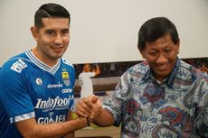 Esteban Vizcarra Teken Kontrak Setahun Bersama Persib