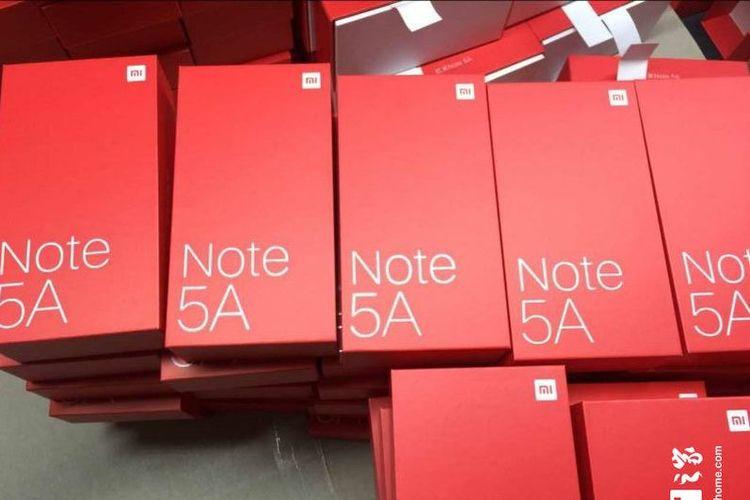 Bocoran Xiaomi Redmi Note 5A.