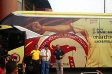 Pikat Investor, Sriwijaya FC Luncurkan Bus Baru untuk Pemain