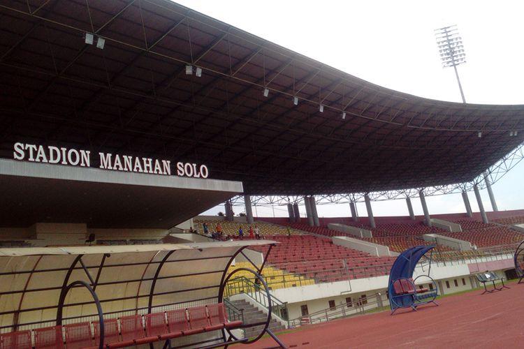 Tampilan Stadion Manahan Solo, Jumat (4/11/2016).