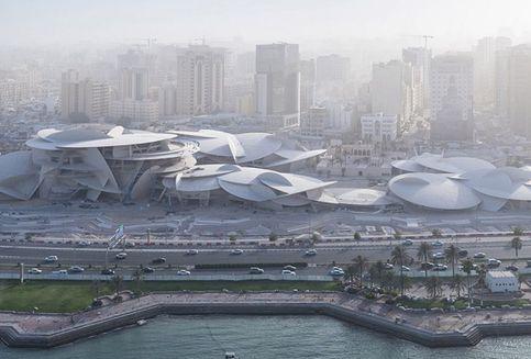 National Museum of Qatar Terinspirasi Mawar Gurun