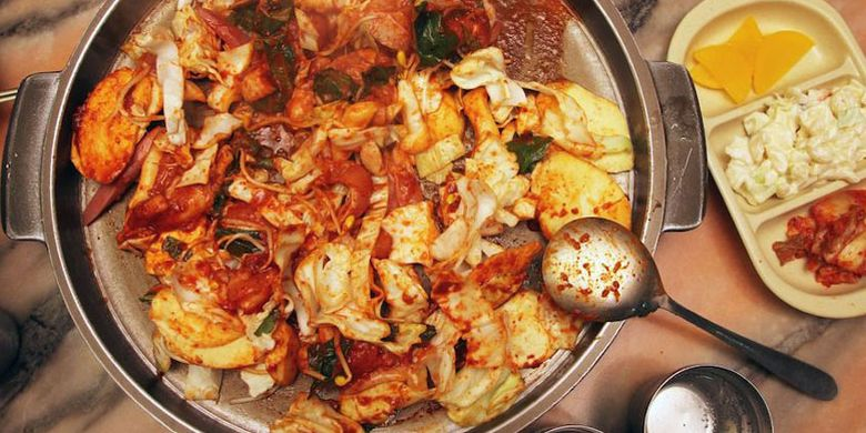 Makanan Korea.