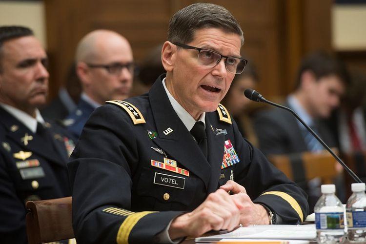 Kepala Pusat Komando AS Jenderal Joseph Votel.