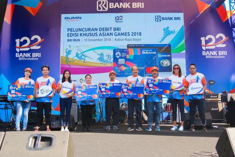Launcing Debit BRI Edisi Khusus Asian Games 2018  bersamaan dengan event BRI RUN Bogor Series 2017 di Istana Bogor.