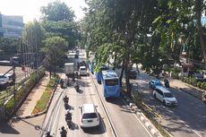Bus Transjakarta Sengaja Berhenti, Busway di Kebayoran Lama Ditutup Sementara