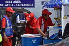 Arus Balik Lebaran, Pasokan BBM Pertamina Aman di Semua Jalur