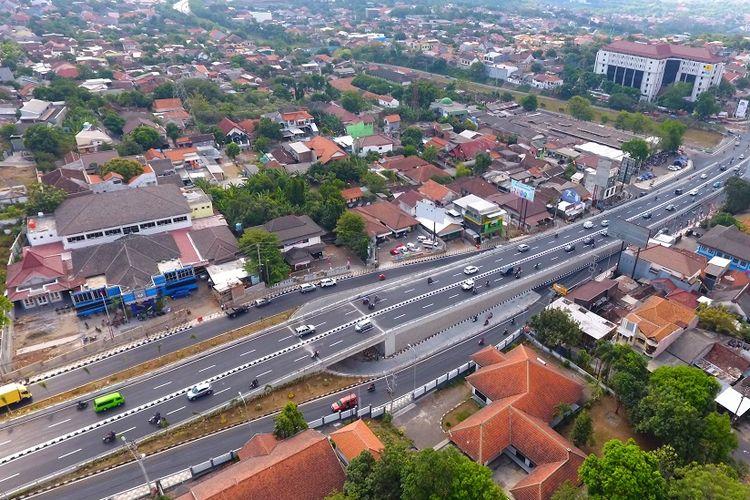 Flyover Jatingaleh di Semarang, Jawa Tengah resmi berfungsi sejak 25 Agustus 2017