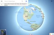 Google Maps Tampilkan Bumi Bulat, Tak Datar Lagi