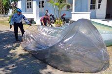 Balon Udara Jatuh 1,5 Km dari 'Runway
