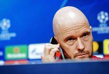 Ajax Vs Tottenham, Erik Ten Hag Ingin Timnya Lebih Menyerang