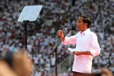 Sampaikan Visi-Misi, Jokowi Pamerkan Capaian Kinerja 4,5 Tahun