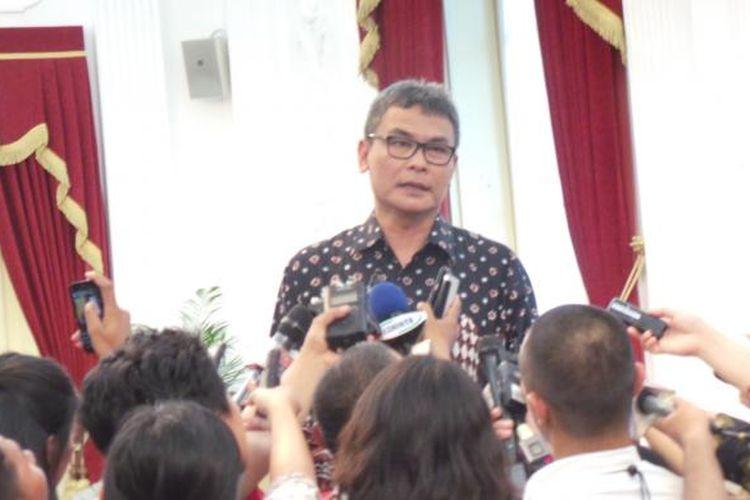 Staf Khusus Presiden Bidang Komunikasi Johan Budi SP
