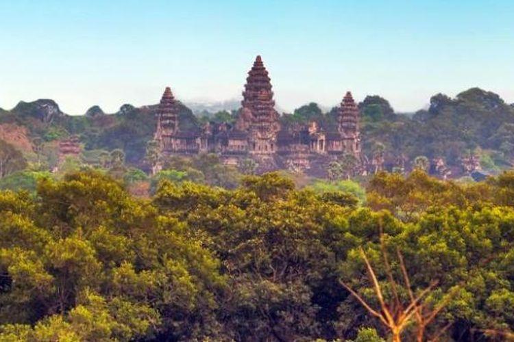 Kompleks candi Angkor Wat, Kamboja.