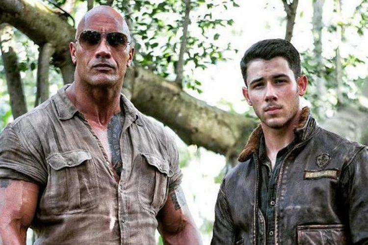 Dwayne The Rock Johnson dan Nick Jonas bermain dalam film daur ulang Jumanji.