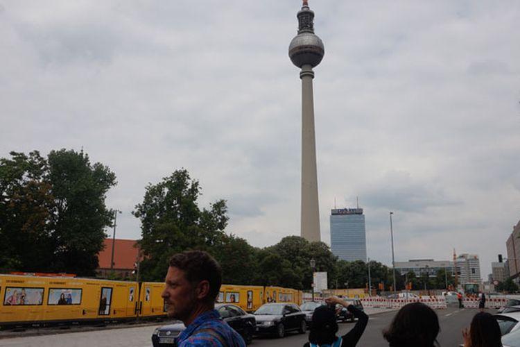 Wow... Indahnya Kota Berlin dari Ketinggian 207 Meter!