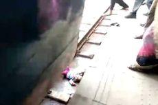 Jatuh di Rel dan Dilintasi Kereta Api, Bayi Usia 1 Tahun Ini Selamat