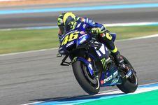 Rossi Puji Performa Motor Yamaha di GP Thailand