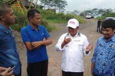 Pegawai Berlarian Saat Wagub Jabar Sidak Galian C Ilegal di Kota Tasikmalaya