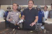 Polisi Gerebek 3 Lokasi Pembuatan Senpi Rakitan di Ogan Komering Ilir
