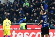 Hasil Liga Italia, Inter Milan ke Puncak Klasemen