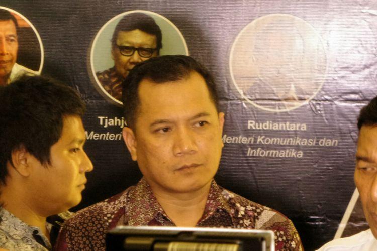 Direktur Perancangan Perundang-undangan Kementerian Hukum dan HAM, Dhahana Putra