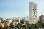Bakal Gedung Paling Jangkung di Albania Berfasad Piksel