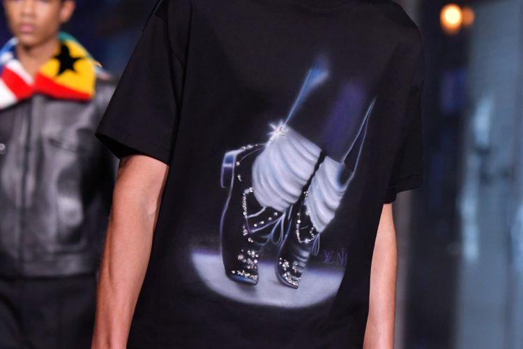 Koleksi kaus Louis Vuitton yang terinspirasi dari Michael Jackson