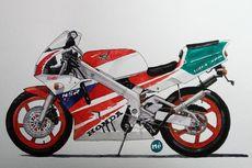 Honda NSR250R, 2-Tak Langka Replika Balap