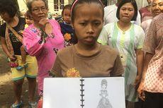 Tidak Kalah dari Desainer Terkenal, Gadis Tunagrahita Ini Mampu Desain Baju