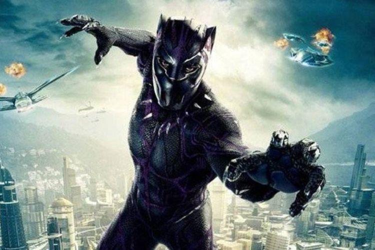 Salah satu karakter superhero Marvel, Black Panther.