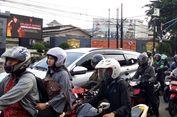 Jelang Ahok Bebas, Lalin di Depan Mako Brimob Depok Ramai Lancar