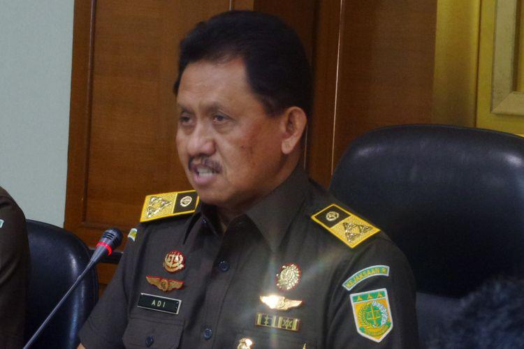 Jaksa Agung Muda Intelijen Adi Toegarisman di kompleks Kejaksaan Agung, Jakarta, Kamis (24/8/2017).
