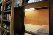 Liburan ke Tokyo, Coba Menginap di Hostel Berkonsep Toko Buku