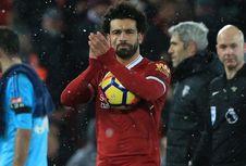 Cetak 4 Gol ke Gawang Watford, Mohamed Salah Bukukan 4 Rekor