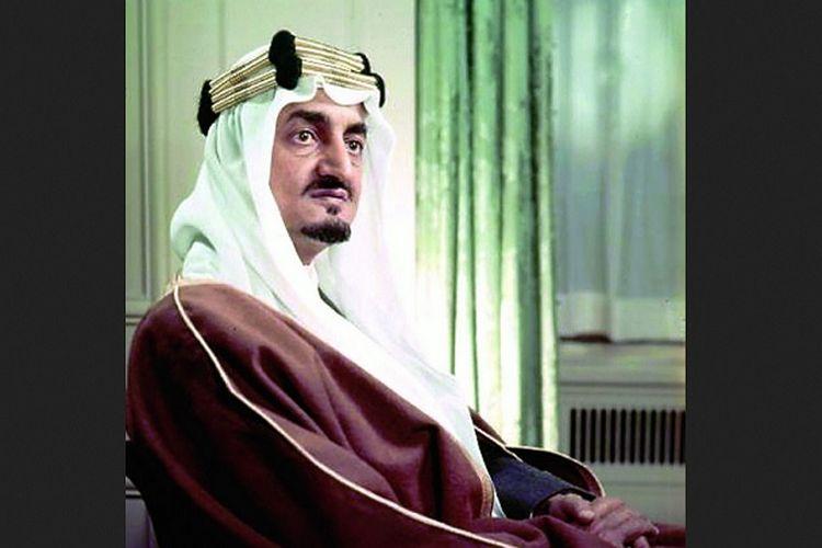 Raja Faisal bin Abdulaziz bin Abdurrahman as-Saud.