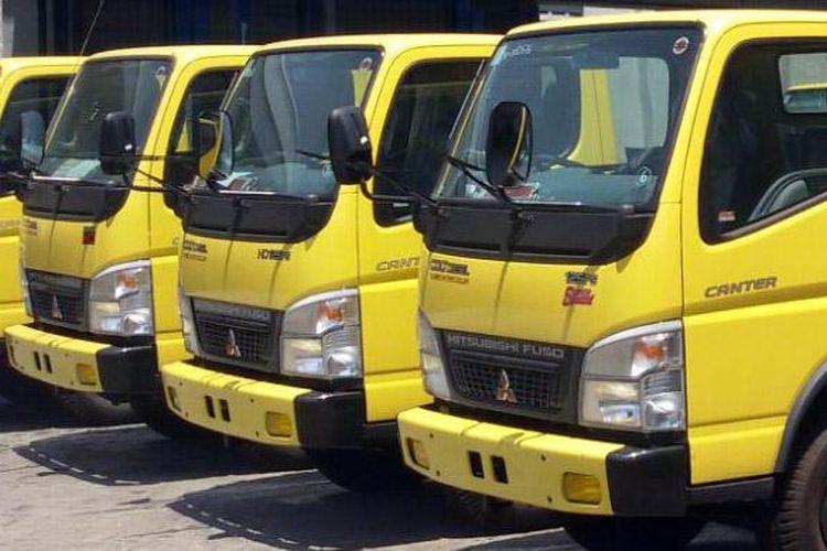 Truk ringan terlaris di Indonesia masih dipeggang Mitsubishi Colt Diesel.