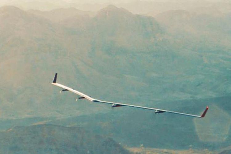 Aquila, proyek drone Facebook penyebar internet di daerah terpencil.