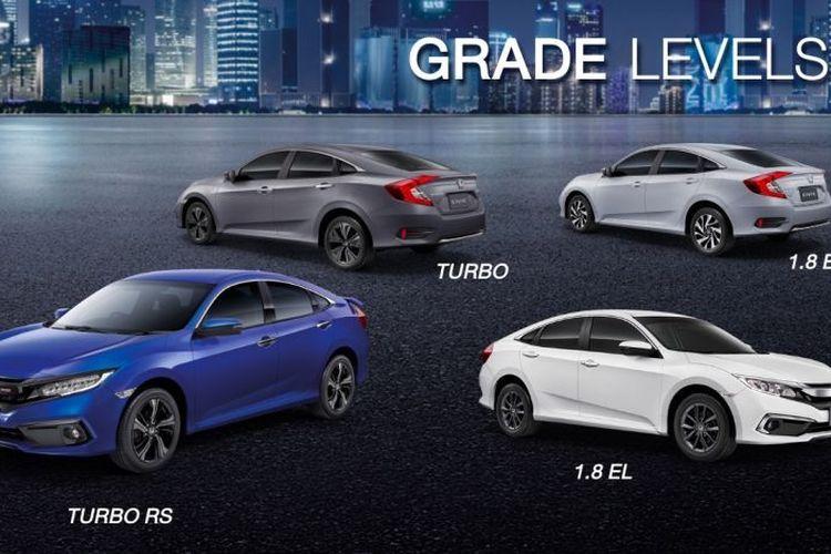 Honda Civic Facelift Meluncur di Thailand