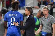 Mancini Coret Balotelli dari Timnas Italia karena Masalah Fisik