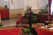 Ceritakan Penyakit Tumornya, Ibu Ini Menangis di Hadapan Jokowi