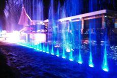 Indahnya Air Mancur Menari Baru di Purwakarta