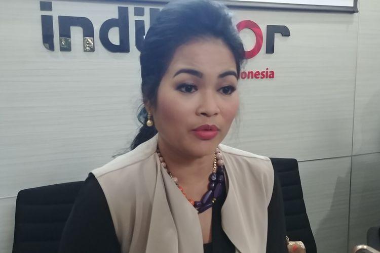 Politisi PDI-P Puti Guntur Soekarnoputri di Jakarta, Kamis (11/10/2017).