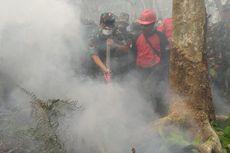 Tinjau Karhutla di Bengkalis, Panglima TNI Sebut Petugas Kekurangan Alat Pemadam