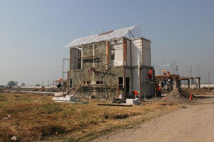 Proyek Spring Residence di Sidoarjo, Jawa Timur.